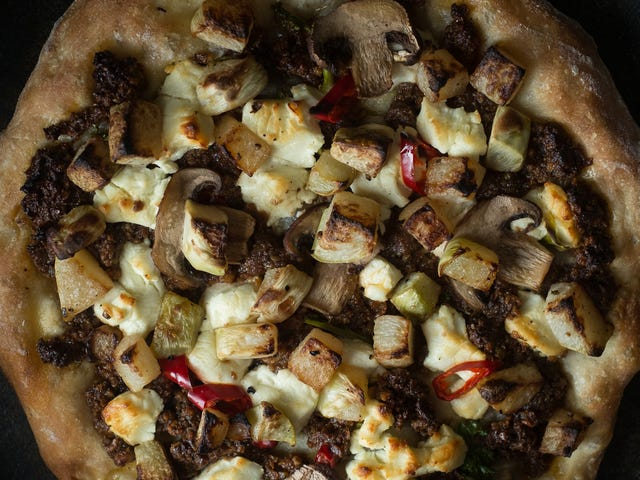 You Should Put Kohlrabi on Your Pizza