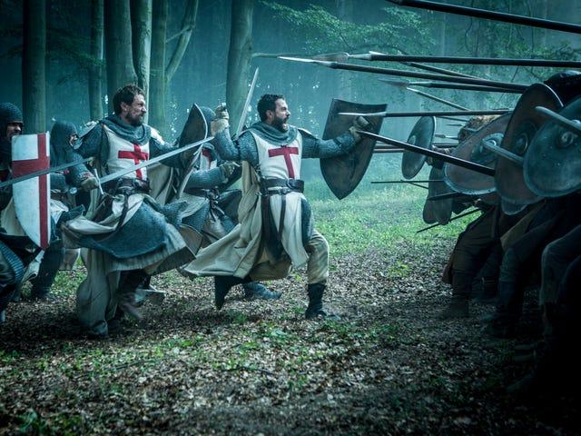 Tập thử nghiệm của Knightfall không thể nâng cao chương trình trên các bộ phim truyền hình thời trung cổ khác