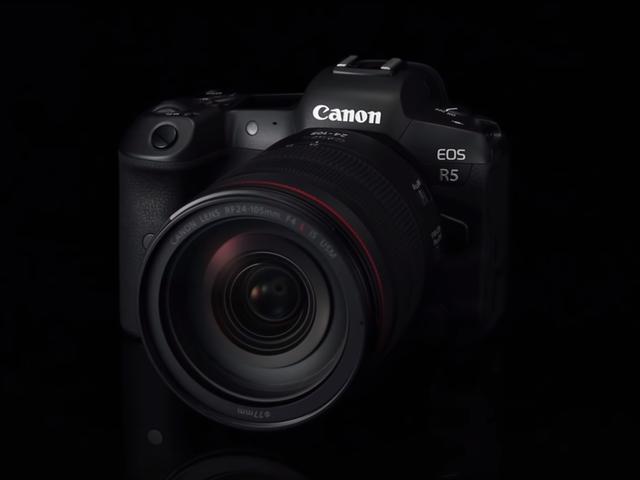 La prochaine caméra sans miroir plein format de Canon est l'EOS R5