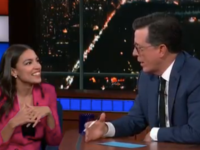 On a live, post-debate Late Show, AOC names the winners, which Trump staffer gets jailed next