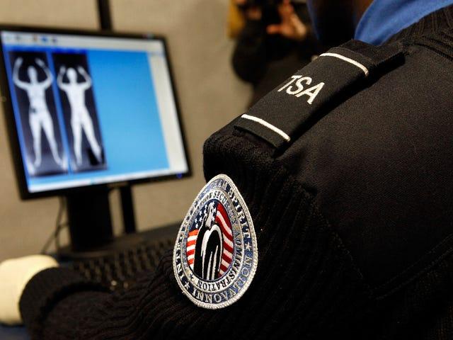 ตัวแทน TSA ในมินนิโซตา Yanks กับ Braids ของผู้หญิงพื้นเมือง  กล่าวว่า 'Giddyup'