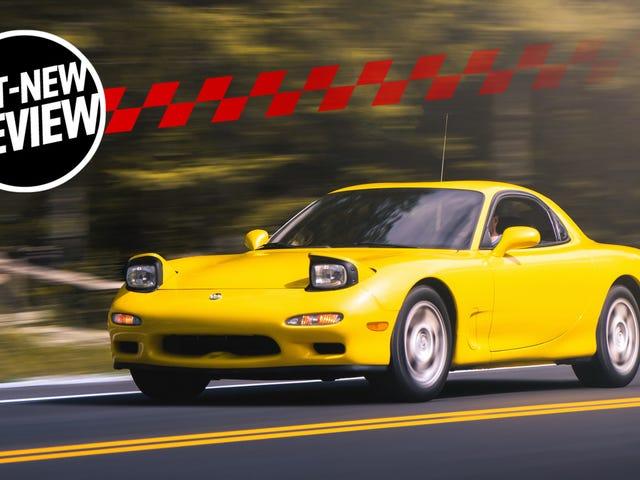 A 1993 Mazda RX-7 Was The Most Intense Bone Stock Car I've Driven