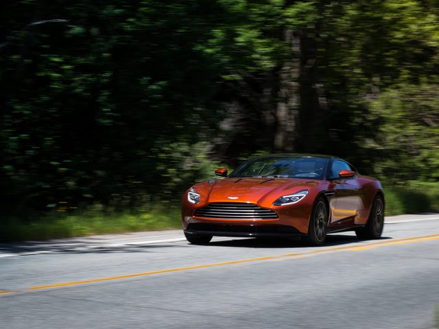 Chasing Canada's Greasiest People's Food In A $200,000 Aston Martin