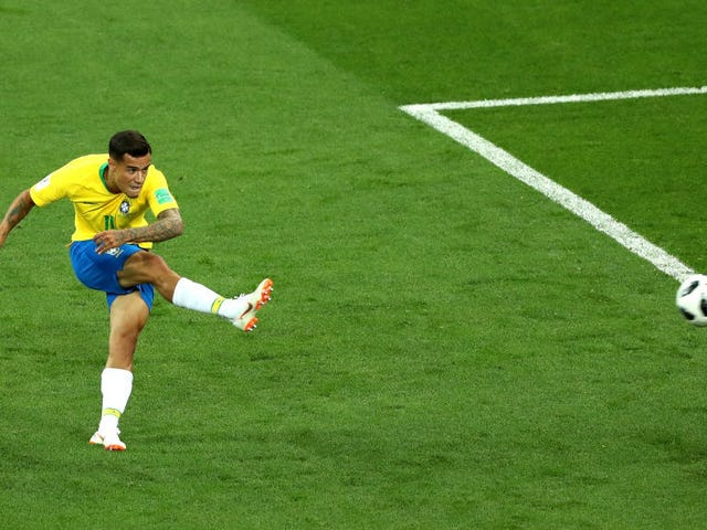 Philippe Coutinho Rips A Mighty Golazo To Put Brazil Ahead Of Switzerland
