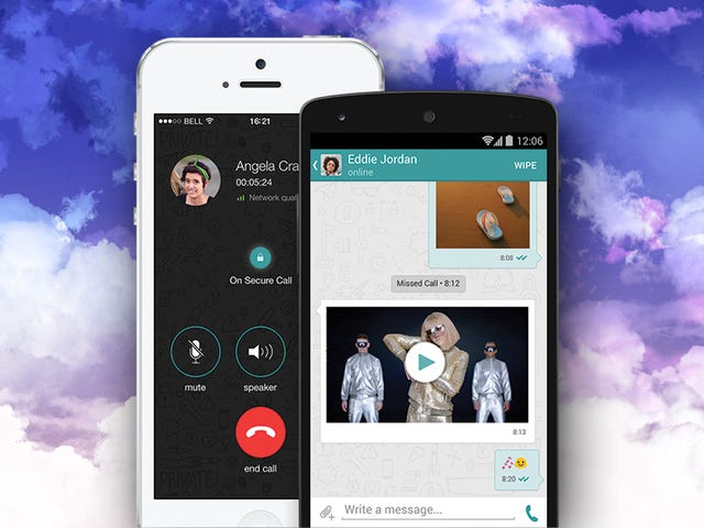 Wiper Offers Encrypted Calls and Text Messages You Can Erase Later