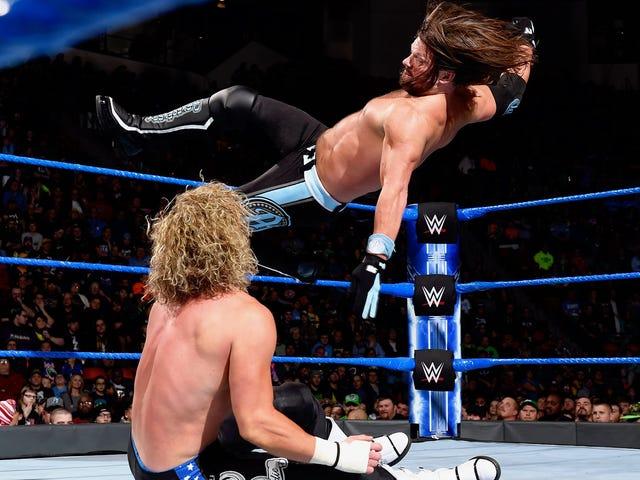 Что означает возвращение телевизионного вещательного телевидения для WWE SmackDown?