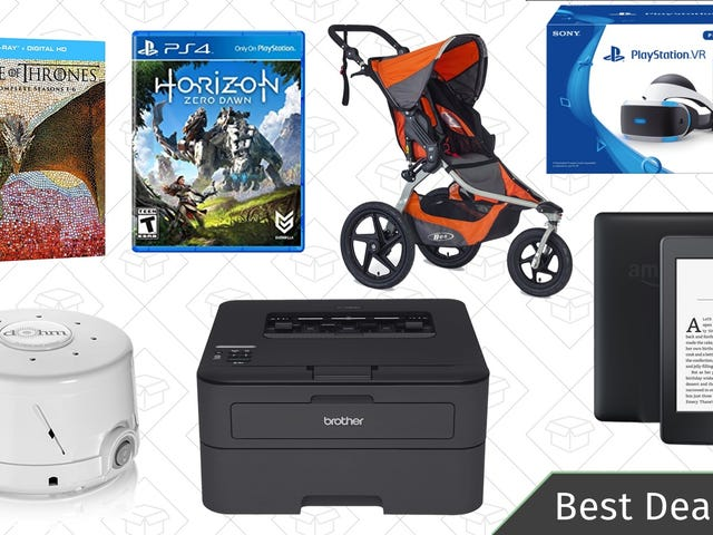 Sunday's Best Deals: Amazon Kindles, Brother Printer, Game of Thrones Blu-ray, and More