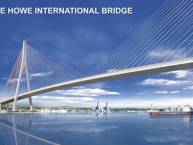 Longest Cable-Stayed Bridge In North America Will Stretch From Detroit To Windsor
