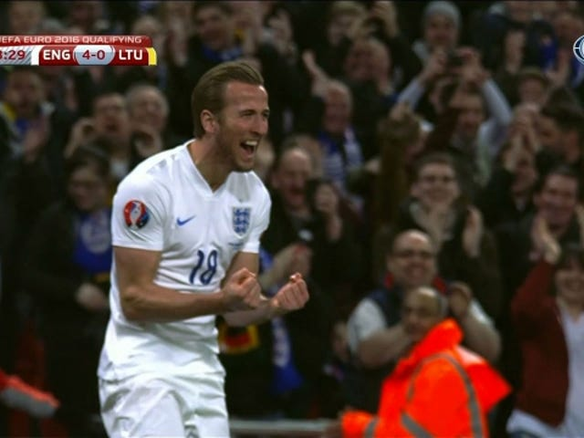Harry Kane Scores In His International Debut, Is Soon To Be Crowned King