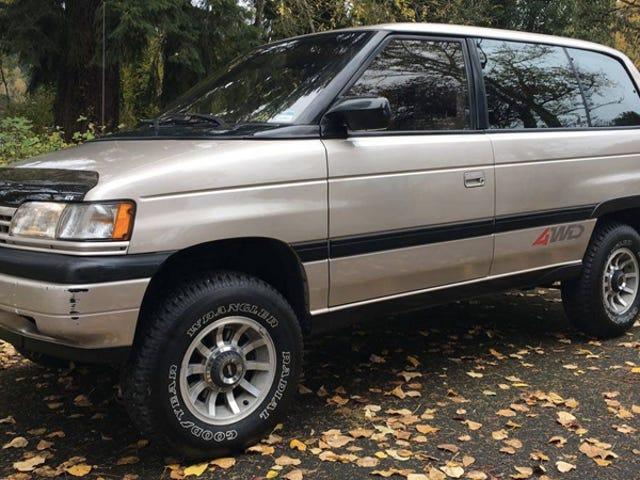 90 के दशक का मज़्दा एमपीवी एक शांत, सस्ता 4WD वैनलाइफ़ व्हीकल है जिसे हम सभी भूल गए हैं