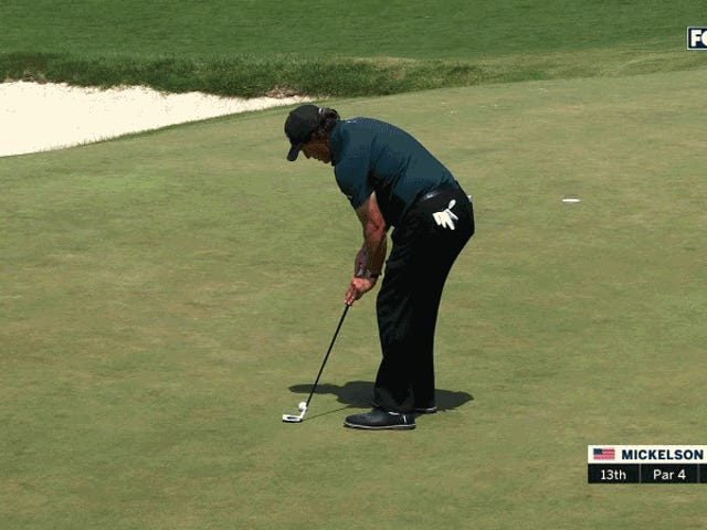 Cheatin' Phil Mickelson Melting Down At The U.S. Open [UPDATE]