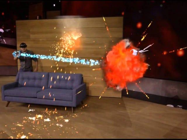 Microsofts Crazy HoloLens AR wird für Entwickler im nächsten Jahr 3000 US-Dollar kosten
