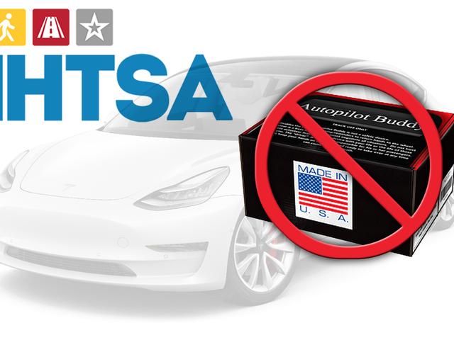 Feds Declare Tesla Autopilot-Tricking 'Autopilot Buddy' Unsafe Because Yeah It's Unsafe