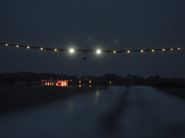 Solar Impulse Has Made It toPennsylvania