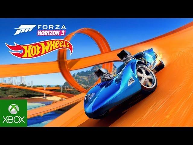 Святий пекло, Forza Horizon 3 отримує розширення Hot Wheels