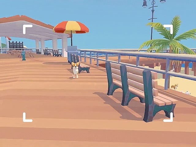 Upcoming Pupperazzi Is Like Pokemon Snap With Dogs