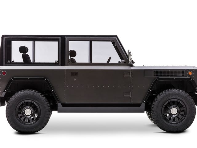 Bollinger's 200-Mile Electric Truck Is Fantastically Rugged And Basic