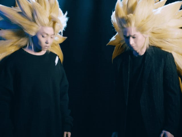 Real-Life Dragon Ball Hair Is Impractical