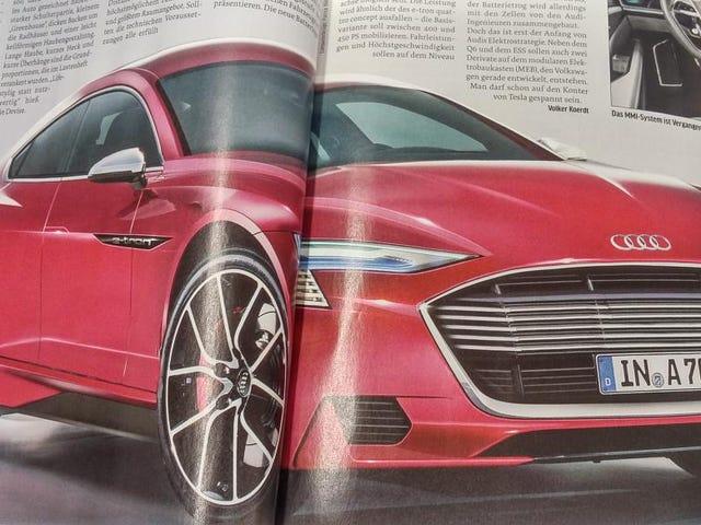 Adakah ini Apakah Sedan Electric Masa Depan Audi Akan Datang?  (Tolong katakan ya)