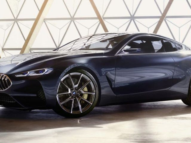 This Is Apparently The New BMW 8 Series Concept