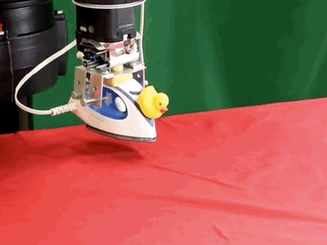 Por fin: un robot que plancha sin dejar arrugas