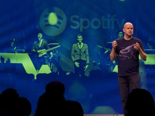 Spotify stämdes av artister för 150 miljoner dollar