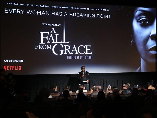 12 pensamentos, fatos e opiniões sobre o filme divertido e ridículo de Tyler Perry, A Fall From Grace