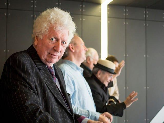 อดีตเวลาลอร์ดทอมเบเกอร์เขียนนวนิยายใหม่ของ Doctor Who