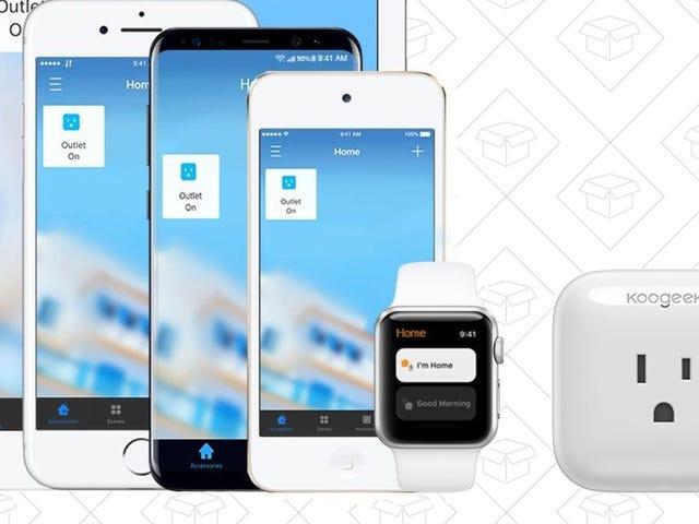 This $25 Smart Plug Works With Alexa, Google Home, and Even <Gasp> Apple HomeKit