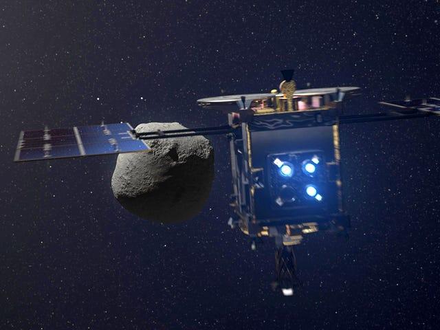 La sonda japonesa Hayabusa 2 aterriza de nuevo con éxito sobre el asteroide Ryugu para tomar muestras