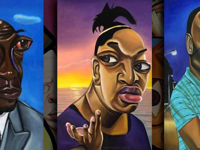 Painter Alim Smith Talks Going Viral After Turning Memes Into Art