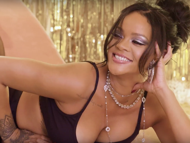 'Tis the Savage: Rihanna Teases Us in Lingerie and Launches Her First Fenty Maison Collab, and Now We Want All the Things