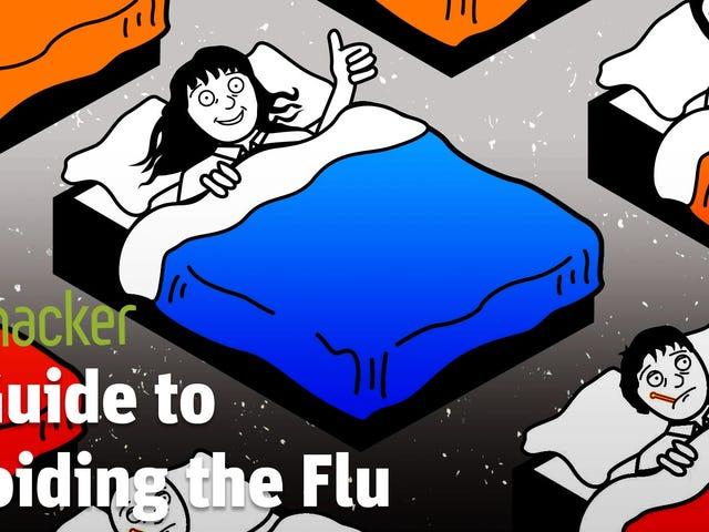 Cómo no contagiarse de gripe esta temporada