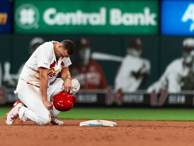Jack Flaherty Gets Picked Off To End The Game, Soaks In His Failure On The Field