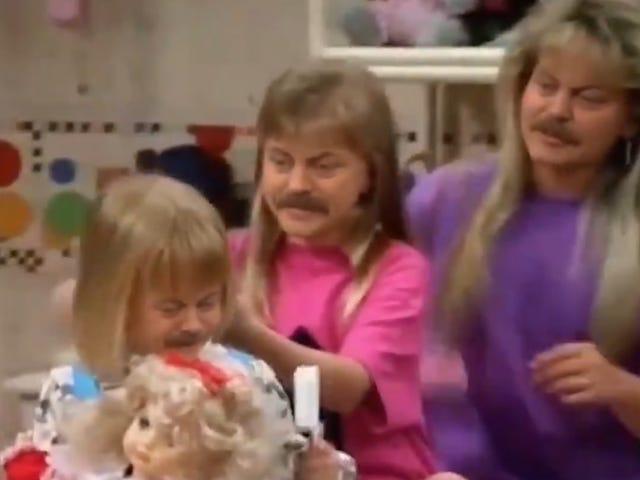 Jakiś potwór zniknął i położył twarz Nicka Offermana w całej obsadzie Full House