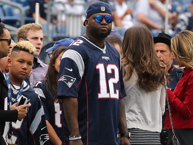 David Ortiz Was Super Pumped About The Patriots' Win