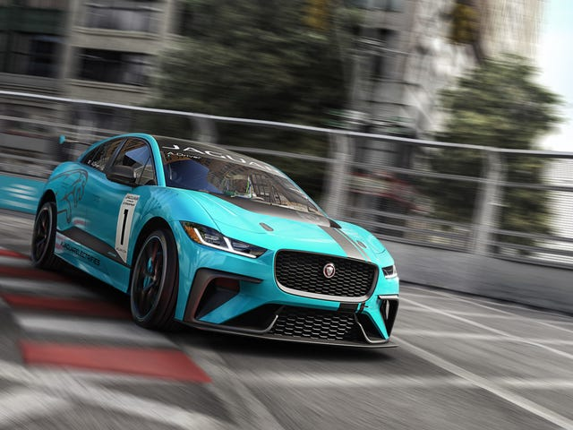 Jaguar Is Worried An I-Pace SVR Could Be Too Quick