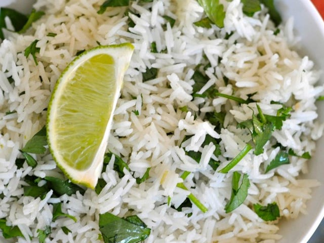 Make Chipotle's Delicious Cilantro-Lime Rice at Home