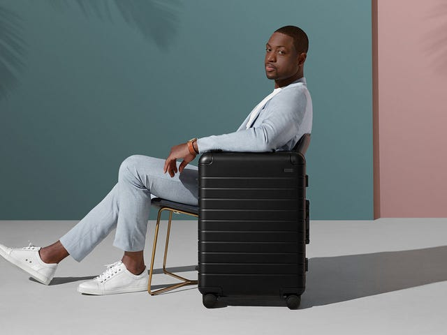 Away's Aluminum Suitcases Now Come In Black, As They Should