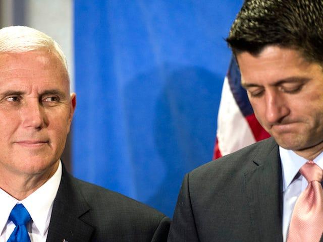 Una breve storia su Paul Ryan che non riconosce il suo collega di tre anni