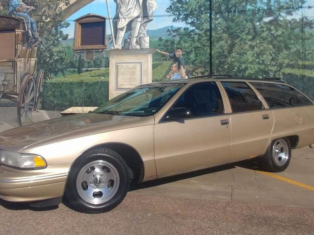 At $7,000, Could This 1995 Chevy Caprice Wagon Mean Your Ship Has Come In?