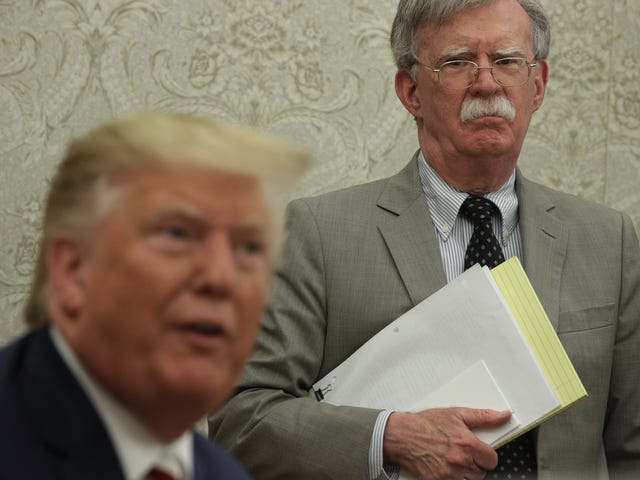 John Bolton Out as the Revolving Door of Employment In the Trump Administration Continues to Spin