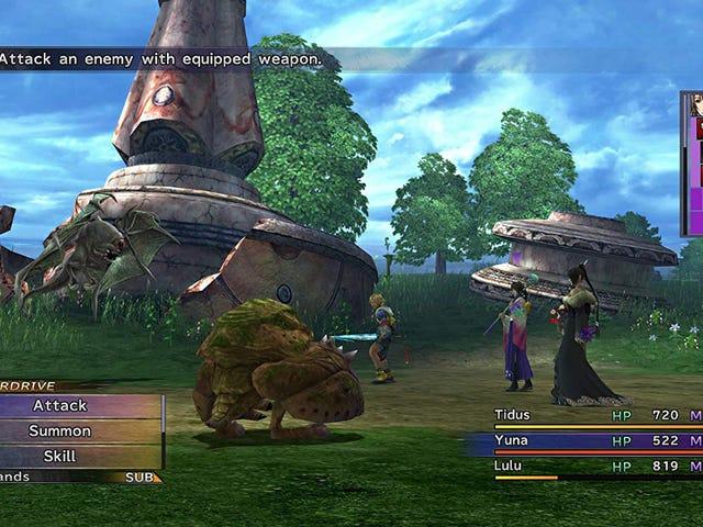 Final Fantasy X |  X2 Remaster Nintendo Switch için 30 $ 'a Düşüyor