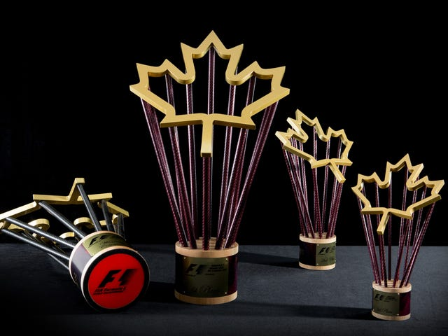 The Fascinating Process That Turned Maple And Carbon Fiber Into Canada's F1 Trophy