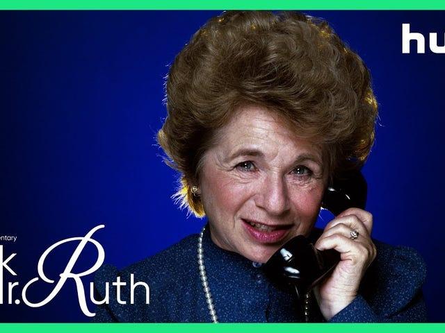 Ukochany pedagog seksualny Dr. Ruth Westheimer otrzymuje swój własny dokument