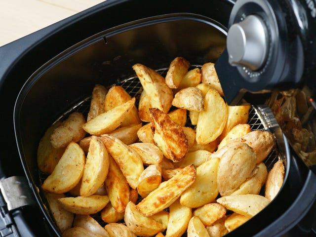 Utilisez une friteuse à air pour une collation optimale