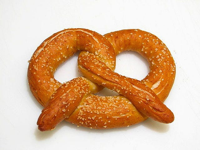 These Pretzels Are Making Me Thirsty!