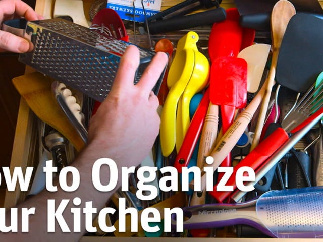 Quick and Easy Ways to Organize Your Kitchen