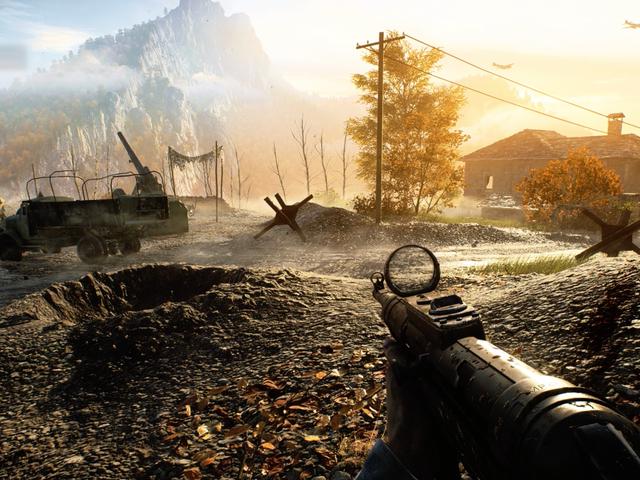 Battlefield V의 새로운지도는 우뚝 솟은 절벽과 빠른 속도의 대학살을 가져옵니다