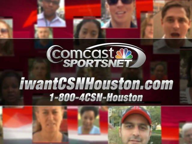 Astros et Rockets poursuivent Comcast après l'échec du réseau CSN Houston